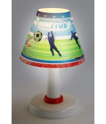 Dalber WM Fuβball Tischlampe 21461 [Energieklasse A]