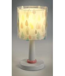 Dalber 41431 A++ to C, Colour Rain Tischlampe, Plastik, E14, Multicolor, 15 x 15 x 30 cm