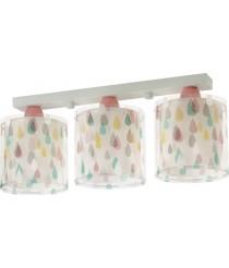 LED Lampe Kinderzimmer Decke Deckenleuchte Tropfen 41433 3 Stufen Dimmbar 806 Lumen Mädchen & Jungen