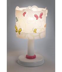 Dalber Schmetterlingen Tischlampe, farbig 62141 [Energieklasse A]