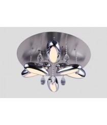 Luxus LED Deckenleuchte Carisma 6-flammig mit Kristallen höhenverstellbar Ø: 60cm