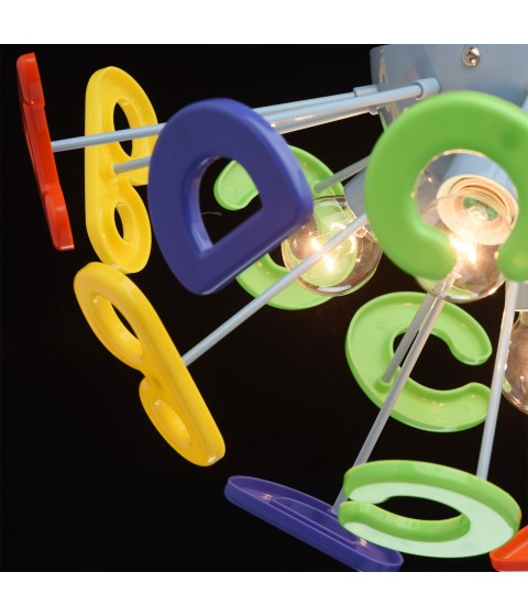 MW-LIGHT Kinder Deckenleuchte 5 x 40W E14