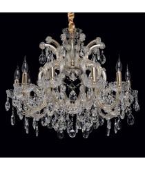 CHIARO Crystal Kronleuchter 10 x 60W E14