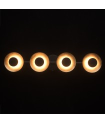 DeMarkt Hi-Tech Spotleuchte 4 x 6W LED