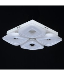 DeMarkt Hi-Tech Deckenleuchte 4 x 12W LED