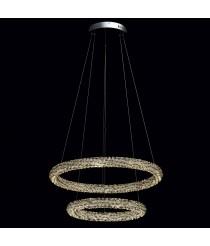 CHIARO Crystal Hängeleuchte 48W  32W LED
