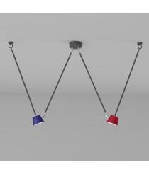 DeMarkt Hi-Tech Deckenleuchte 2 x 5W LED