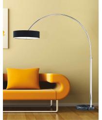 ARUBA Stehlampe Schwarz