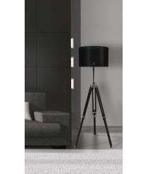 CINEMA Stehlampe Schwarz