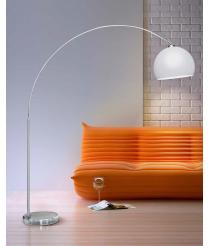 GIO Stehlampe Chrom